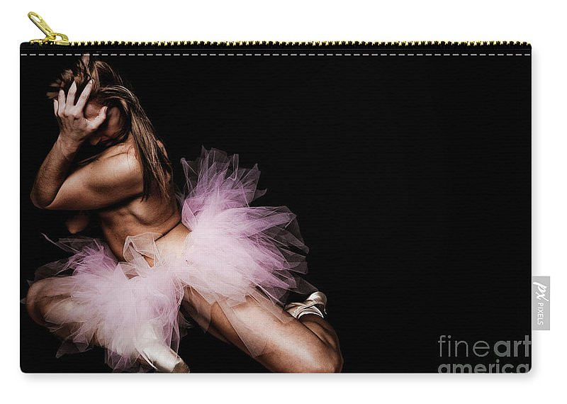 Art Carry-all Pouch featuring the photograph Dancer II by Jt PhotoDesign