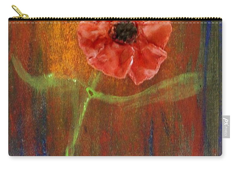 Carry-all Pouch featuring the painting Dances 2 by Laurette Escobar