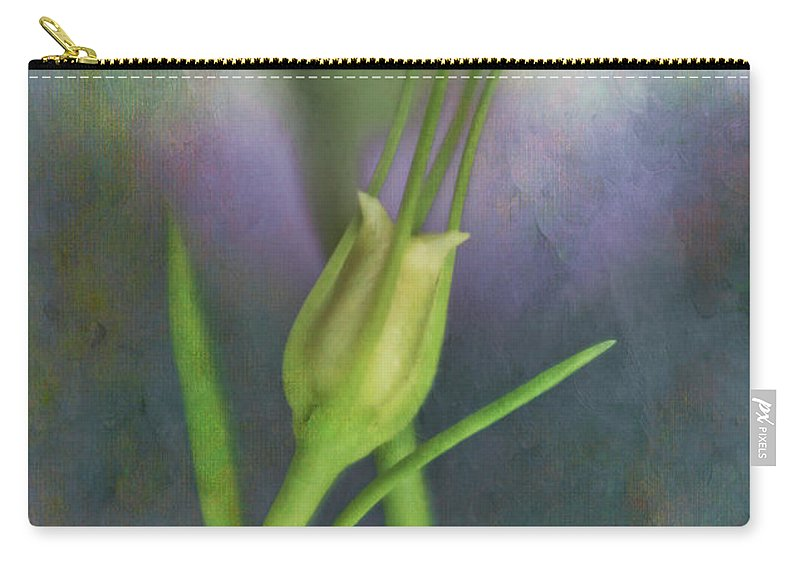 Bud Carry-all Pouch featuring the photograph Dancing Bud - After by David and Carol Kelly