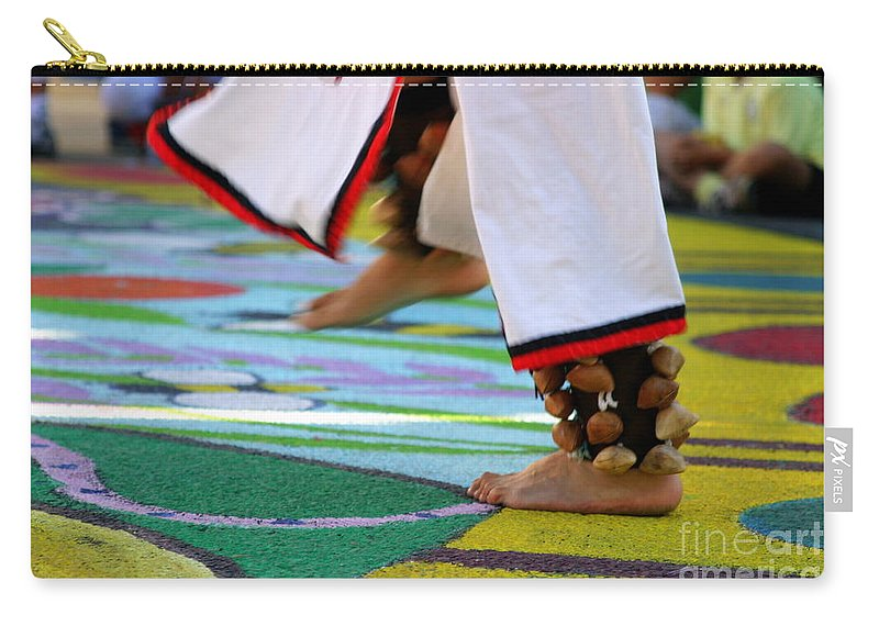 Dancing Carry-all Pouch featuring the photograph Dancing Feet by Henrik Lehnerer