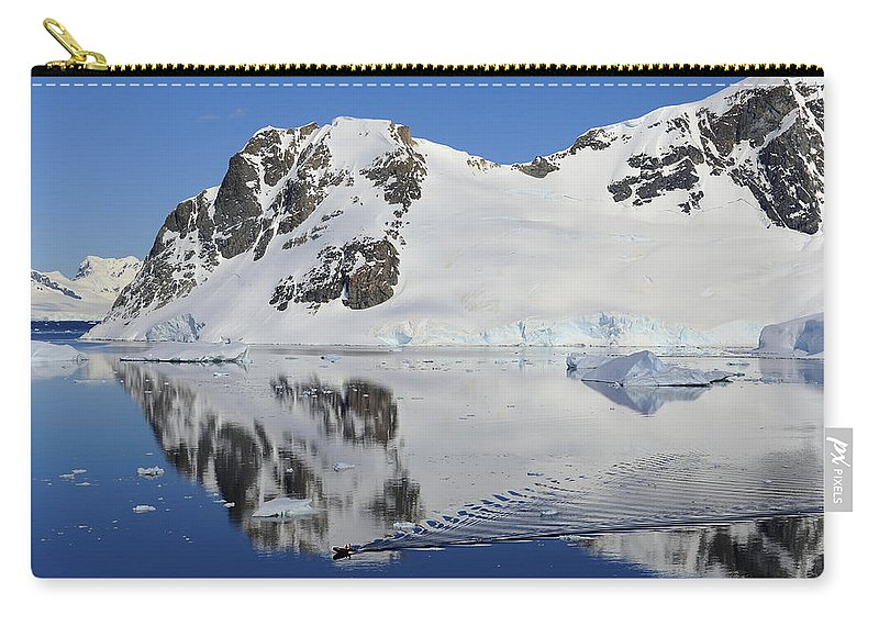 Antarctica Carry-all Pouch featuring the photograph Danco Island by Tony Beck