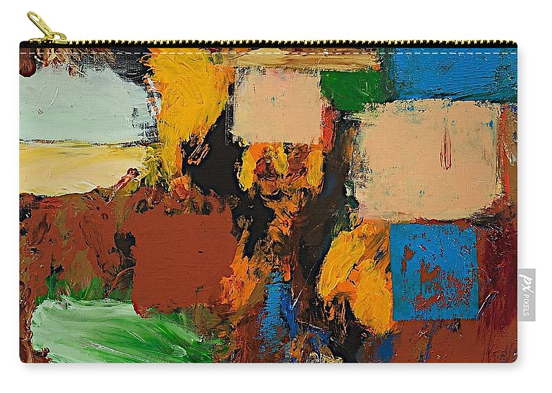 Landscape Carry-all Pouch featuring the painting Dare Again by Allan P Friedlander