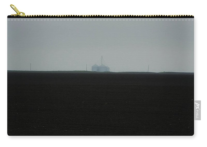 Farming Carry-all Pouch featuring the photograph Dark Texas Earth by Lizi Beard-Ward