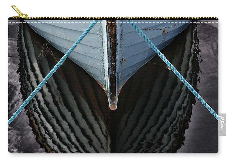 Bay Carry-all Pouch featuring the photograph Dark Waters by Stelios Kleanthous