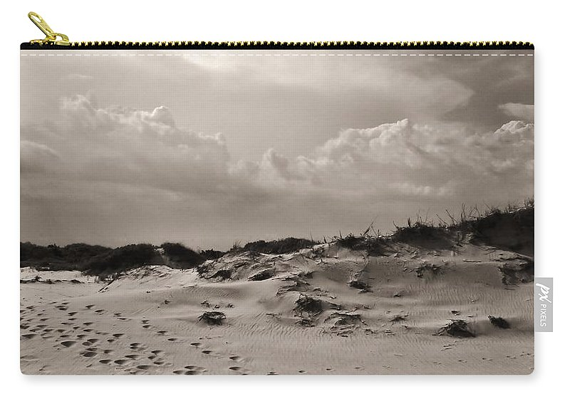 Nature Carry-all Pouch featuring the photograph Darkness Falls by Art Dingo
