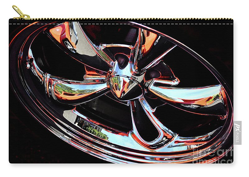 Car Carry-all Pouch featuring the photograph Dave's Dream by Molly McPherson