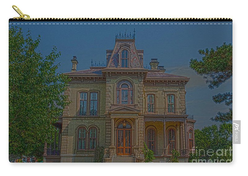 Bloomington Carry-all Pouch featuring the photograph Davis Supreme by Alan Look