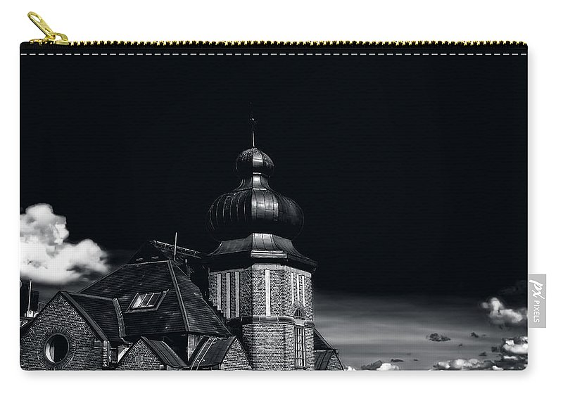 Dawn Carry-all Pouch featuring the photograph Dawn And Night by Ramon Martinez