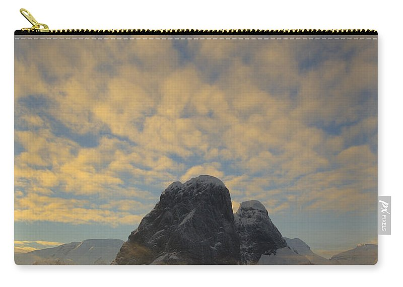 Antarctica Carry-all Pouch featuring the photograph Dawn Over The Lemaire by Tony Beck