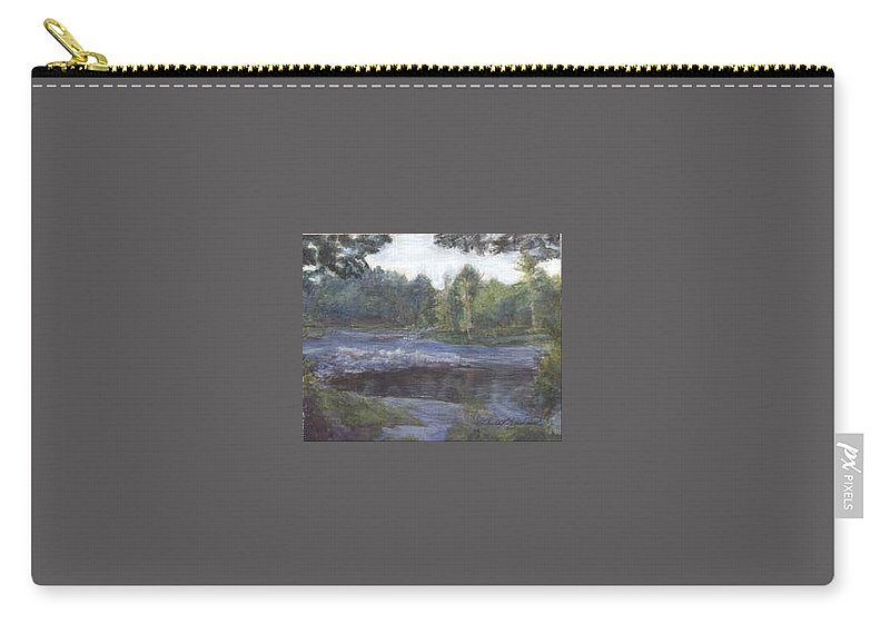 Dawn Carry-all Pouch featuring the painting Dawn by Sheila Mashaw