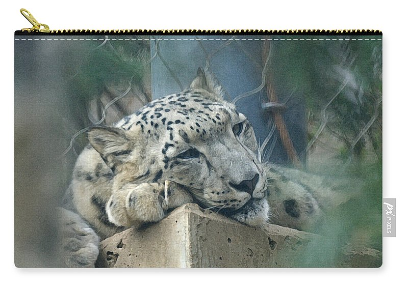 Animals Carry-all Pouch featuring the digital art Day Dream by Ernie Echols