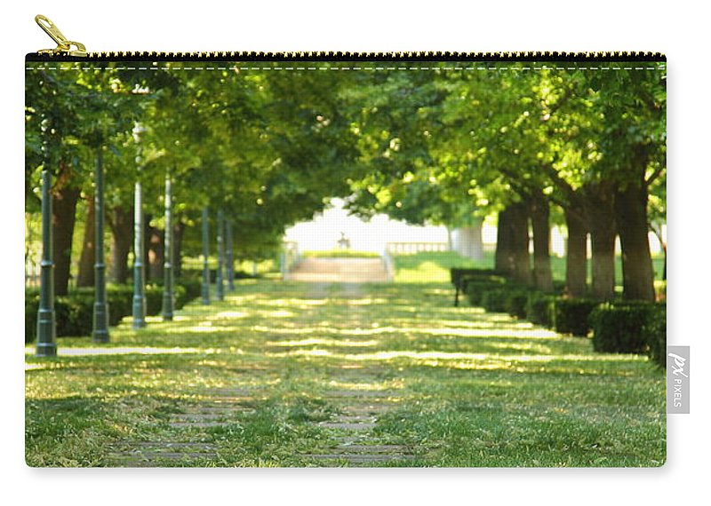 Kansas City Carry-all Pouch featuring the photograph Day Dreamin' by Ken Kobe