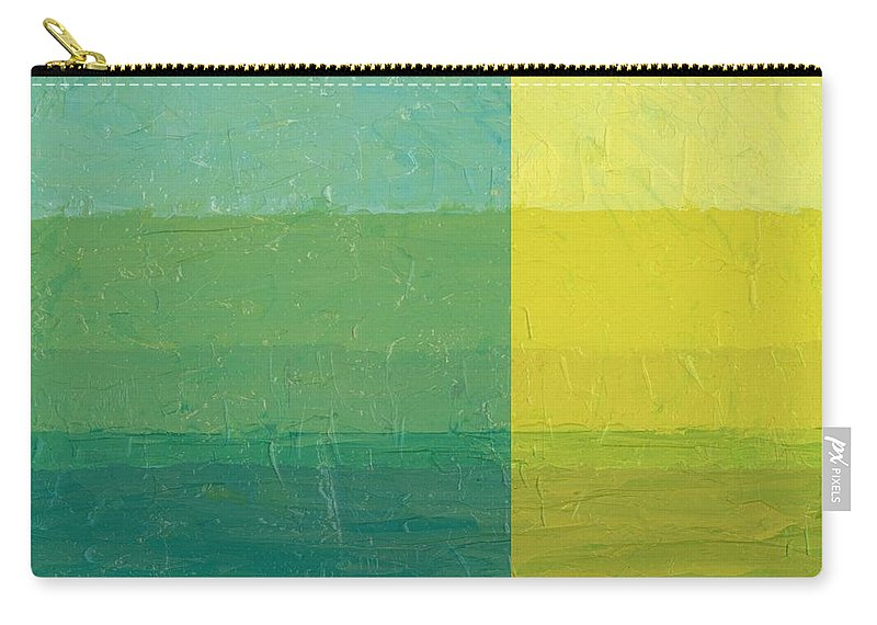 Day Carry-all Pouch featuring the painting Daybreak by Michelle Calkins