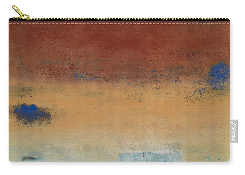 Abstract Carry-all Pouch featuring the painting Daydream Believer by Mark Witzling