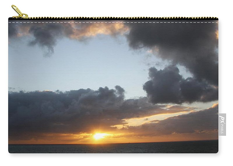Singer Island Carry-all Pouch featuring the photograph Day's End On Singer Island by Christiane Schulze Art And Photography