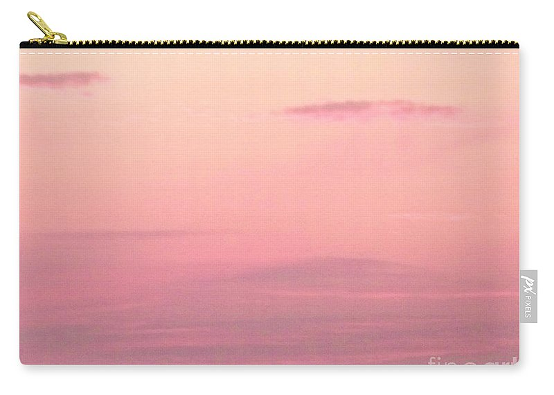 Sky Carry-all Pouch featuring the photograph Days End Sky At Cape May Nj by Eric Schiabor