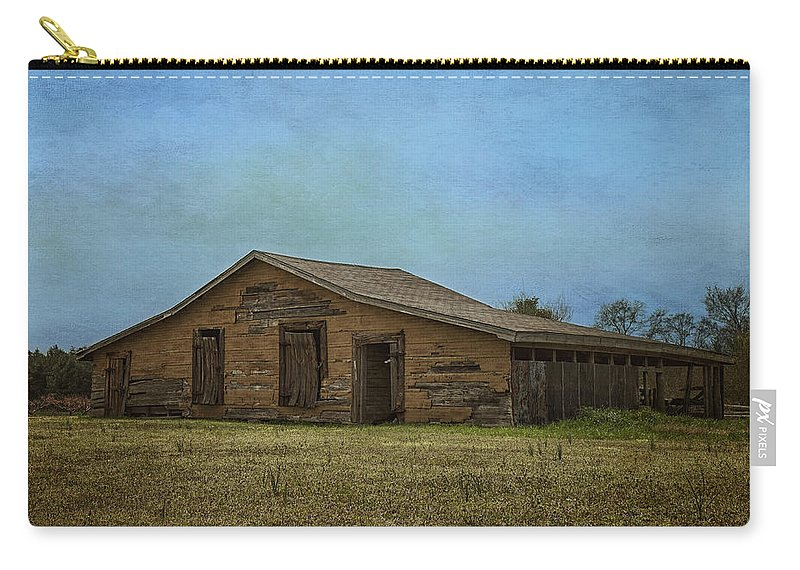 Barn Carry-all Pouch featuring the photograph Days Gone By by Kim Hojnacki
