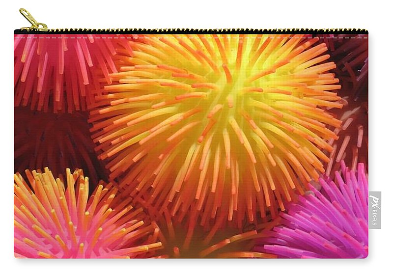 Abstract Carry-all Pouch featuring the photograph Dazzlers by Ann Horn