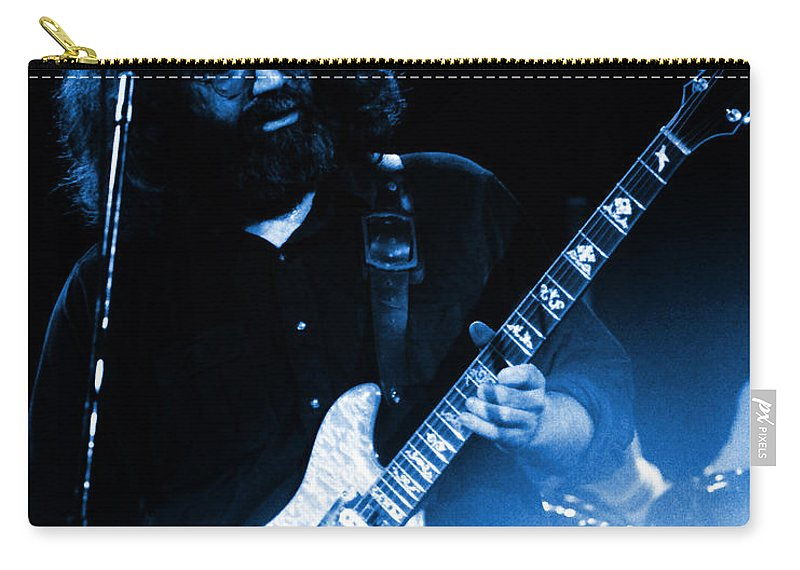 Grateful Dead Carry-all Pouch featuring the photograph Dead #20 In Blue by Ben Upham