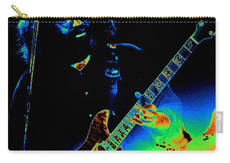 Grateful Dead Carry-all Pouch featuring the photograph Dead #20 With Cosmic Enhancement 1 by Ben Upham