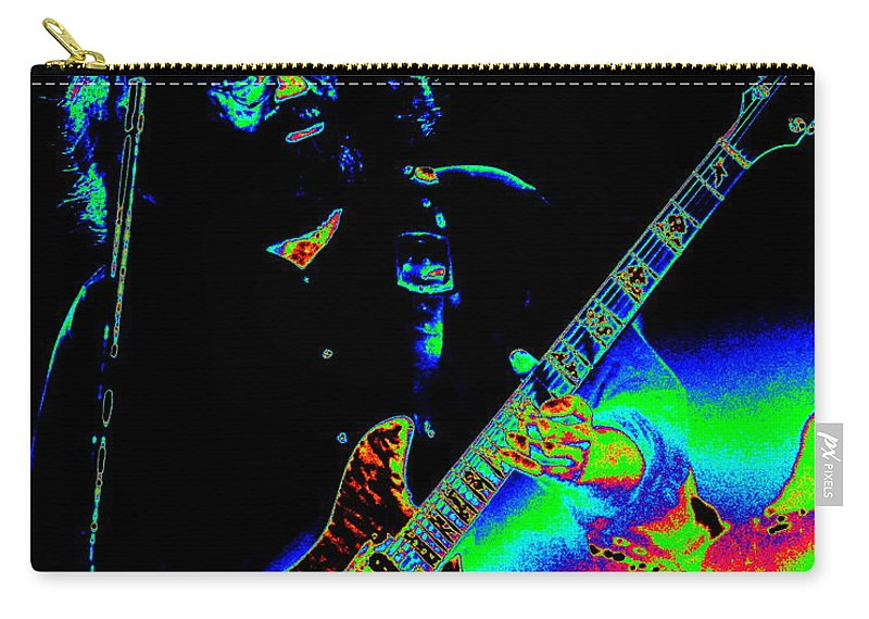 Grateful Dead Carry-all Pouch featuring the photograph Dead #20 With Cosmic Enhancement 2 by Ben Upham