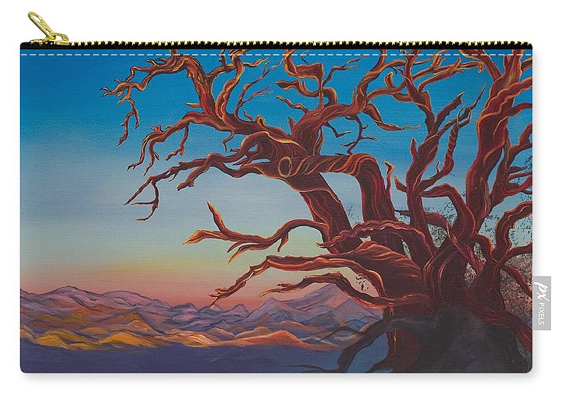 Bright Carry-all Pouch featuring the painting Still Life by Yolanda Raker