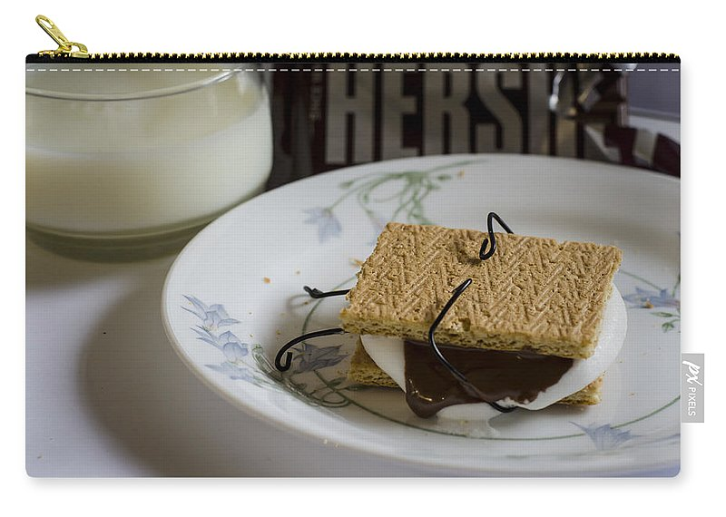 Smore Carry-all Pouch featuring the photograph Death By Chocolate by Heather Applegate