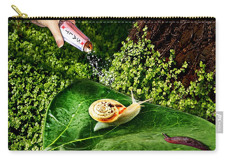 Paula Ayers Carry-all Pouch featuring the digital art Decisions No. 5 by Paula Ayers