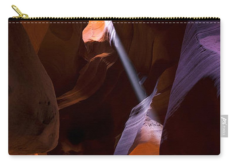 Deep In Antelope Carry-all Pouch featuring the photograph Deep In Antelope by Chad Dutson