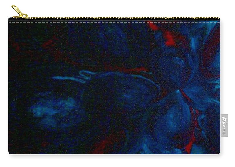 Deeper Still Carry-all Pouch featuring the painting Deeper Still by Jacqueline McReynolds
