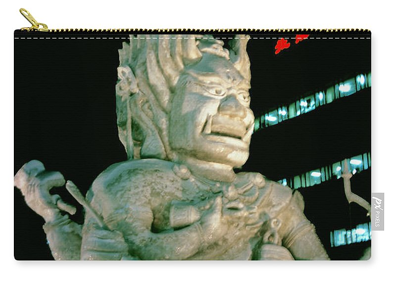 Ice Festival Carry-all Pouch featuring the photograph Delicate Art by Bob Phillips