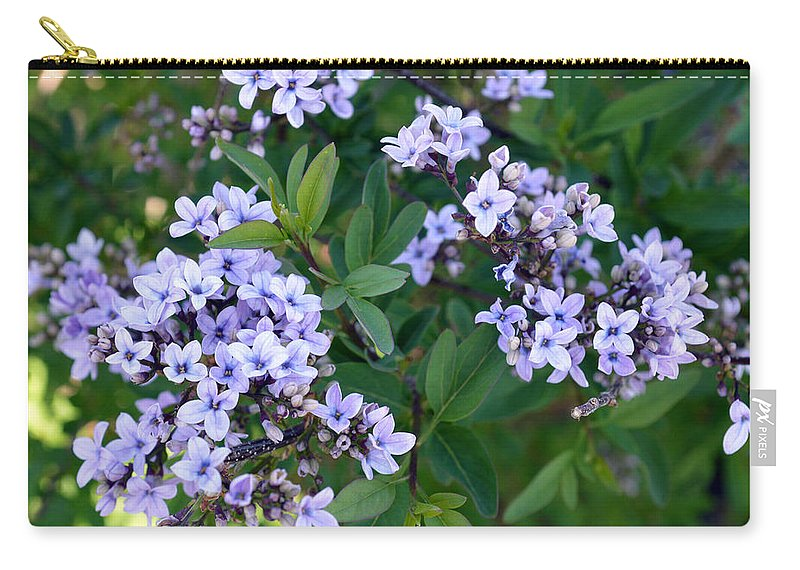 Flower Carry-all Pouch featuring the photograph Delicate Flowers 3 by Brent Dolliver
