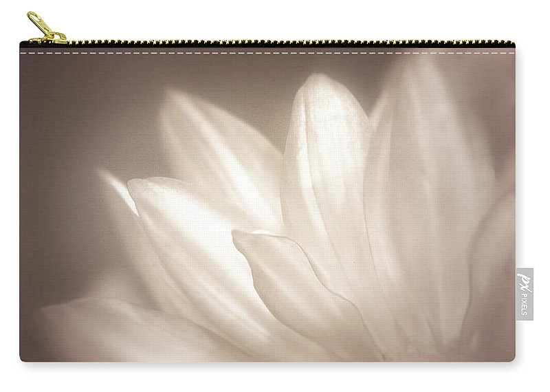 Bloom Carry-all Pouch featuring the photograph Delicate by Scott Norris