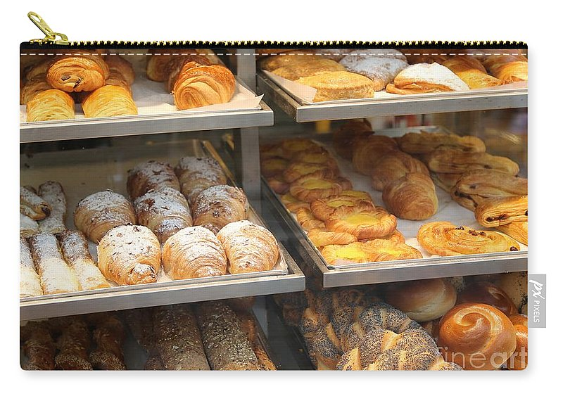 Bakery Carry-all Pouch featuring the photograph Delicious Pastries In Brussels by Carol Groenen