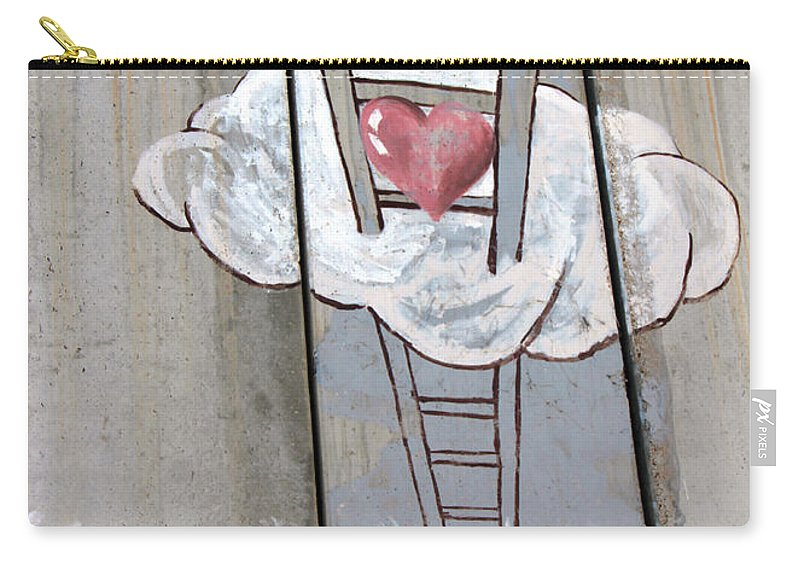Delivering Carry-all Pouch featuring the photograph Delivering Love by Munir Alawi