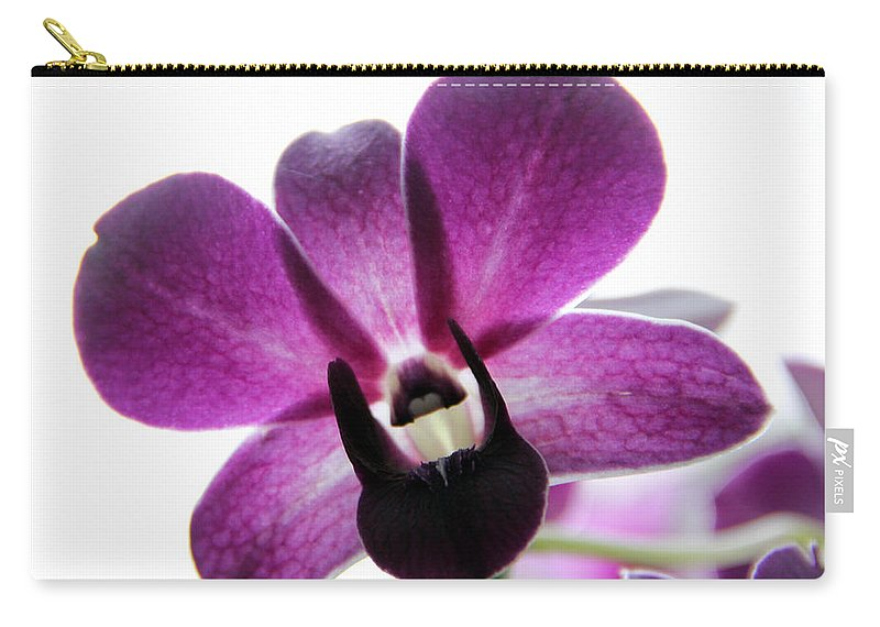 Dendrobium Carry-all Pouch featuring the photograph Dendrobium I by Erin McCandless