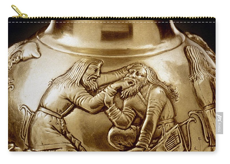 3rd Century B.c Carry-all Pouch featuring the photograph Dental Treatment by Granger