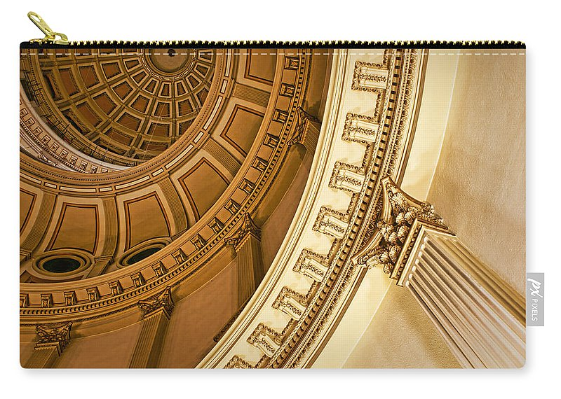 Dome Carry-all Pouch featuring the photograph Denver Dome Detail by Nikolyn McDonald
