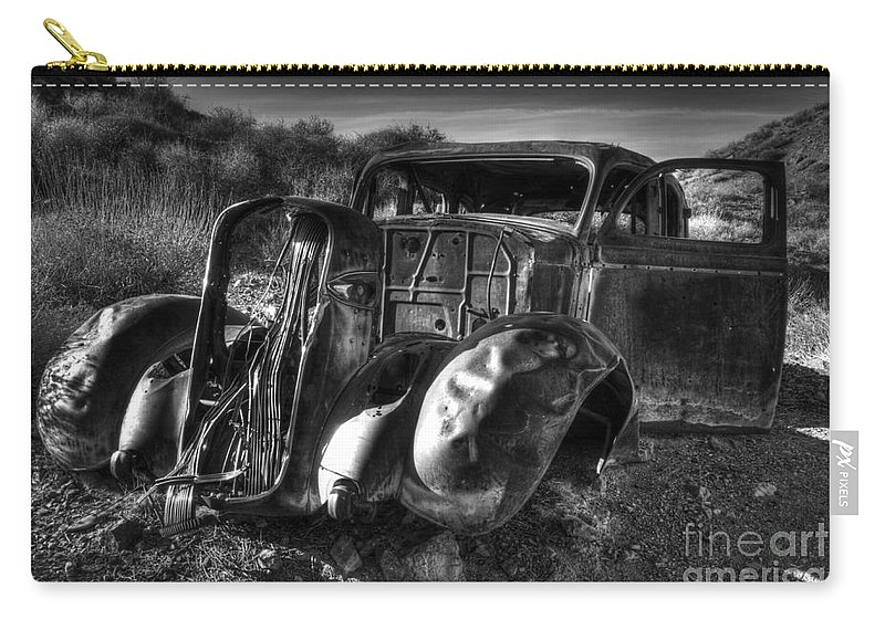 Death Valley Carry-all Pouch featuring the photograph Desert Beauty Death Valley California by Bob Christopher