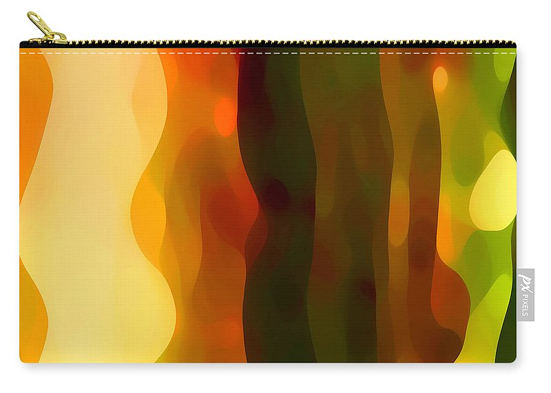 Bold Carry-all Pouch featuring the painting Desert Pattern 1 by Amy Vangsgard