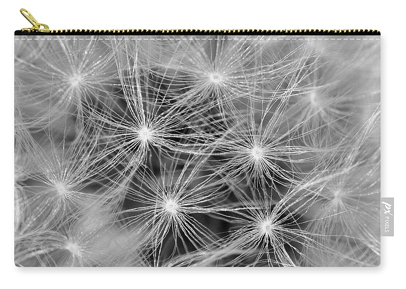 Dandelion Carry-all Pouch featuring the photograph Designed To Fly by HHelene