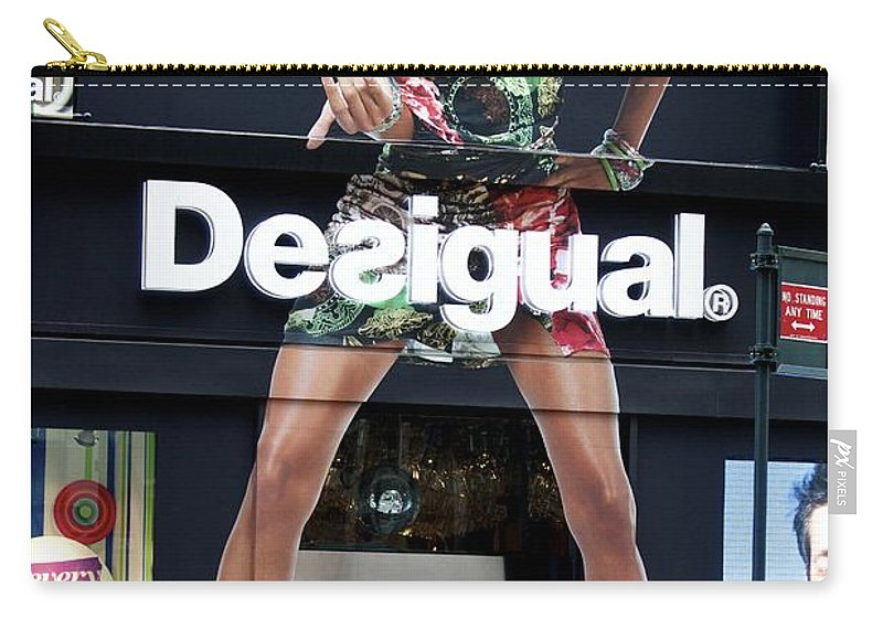 Desigual Carry-all Pouch featuring the photograph Desigual Storefront by Alice Gipson