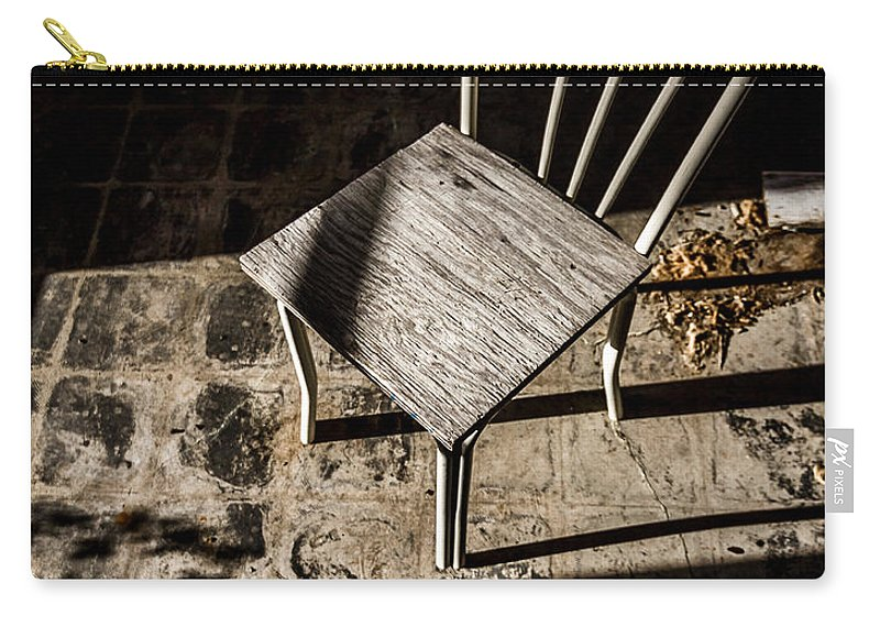 Abandoned Carry-all Pouch featuring the photograph Desolate by Ken Frischkorn