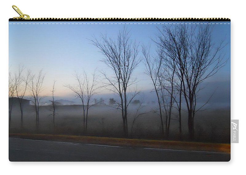Trees Carry-all Pouch featuring the photograph Desolation by Coleen Harty