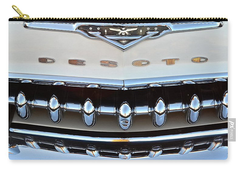 Classic Carry-all Pouch featuring the photograph Desoto by Frozen in Time Fine Art Photography