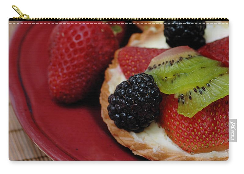 Baked Goods Carry-all Pouch featuring the photograph Dessert Tarts by Amy Cicconi