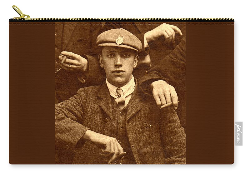 Sepia Carry-all Pouch featuring the photograph Destiny by Rodger Insh