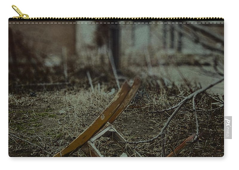 Chair Carry-all Pouch featuring the photograph Destruction by Margie Hurwich