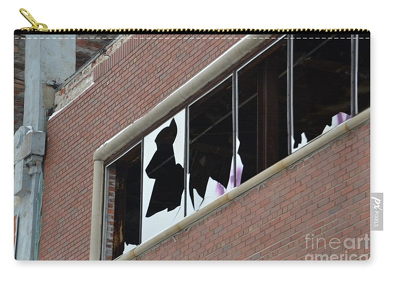 Detroit Carry-all Pouch featuring the photograph Detroit Packard by Randy J Heath