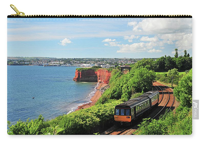Passenger Train Carry-all Pouch featuring the photograph Devon Train by Maxian